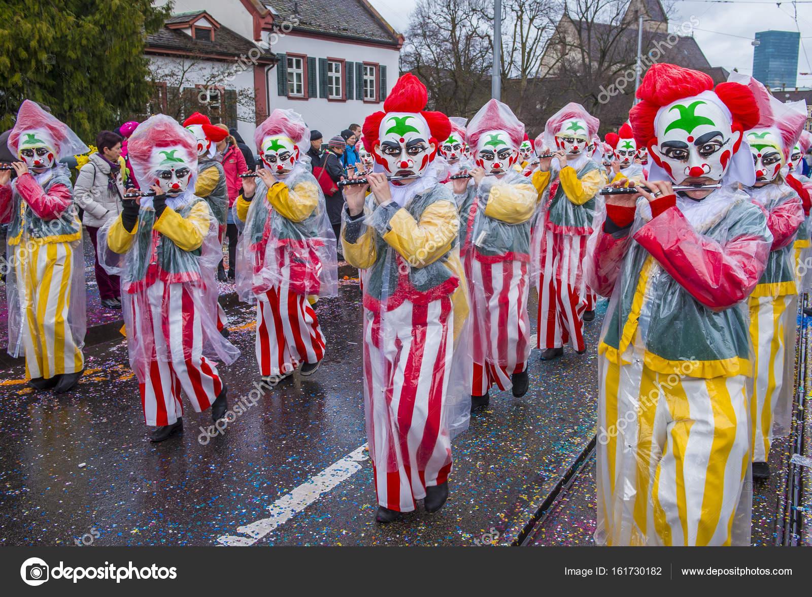 2017 Basler Fasnacht Redaktionelles Stockfoto Kobbydagan 161730182