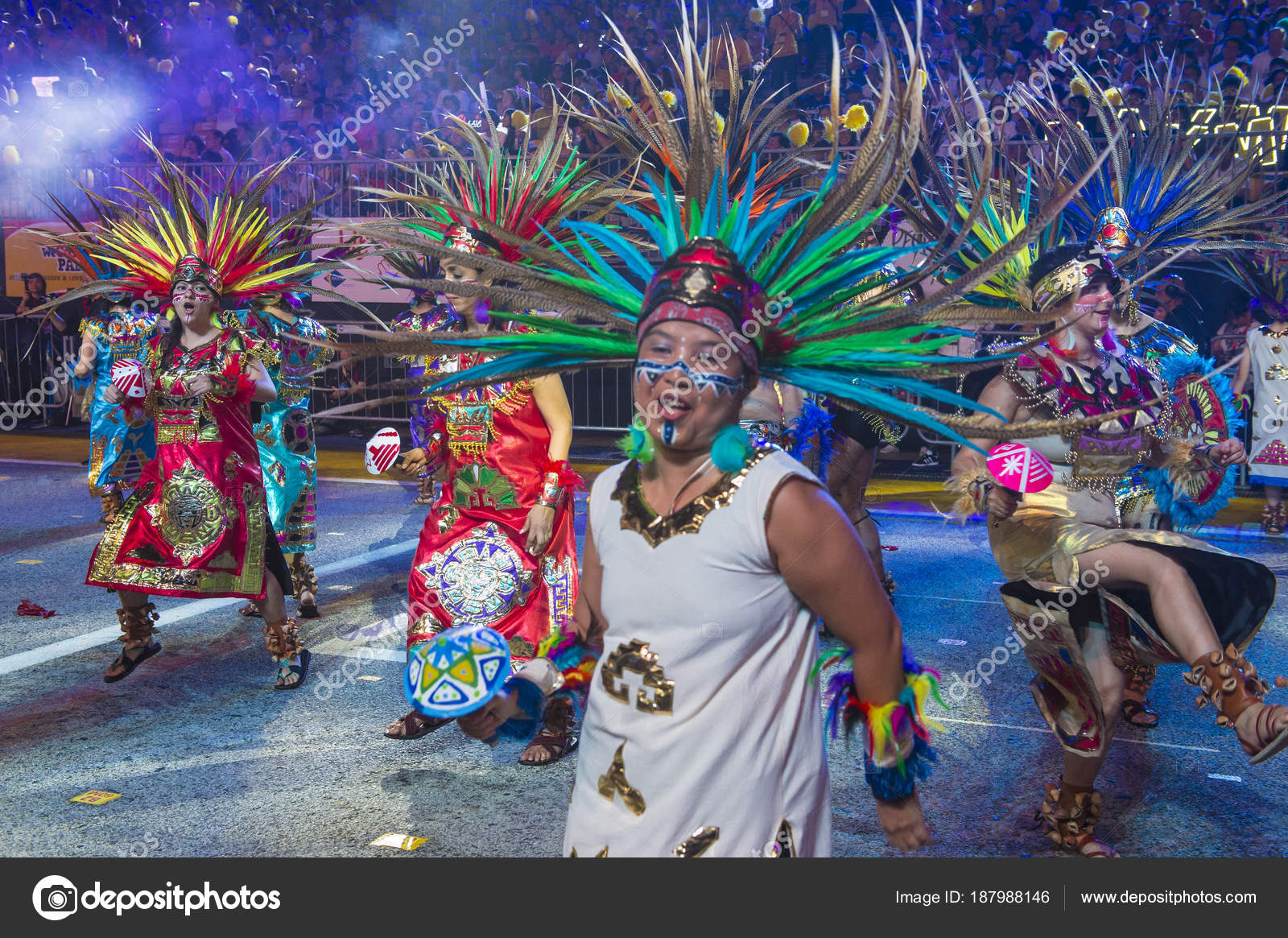 2018 Chingay Parade Foto Editorial De Stock C Kobbydagan 187988146
