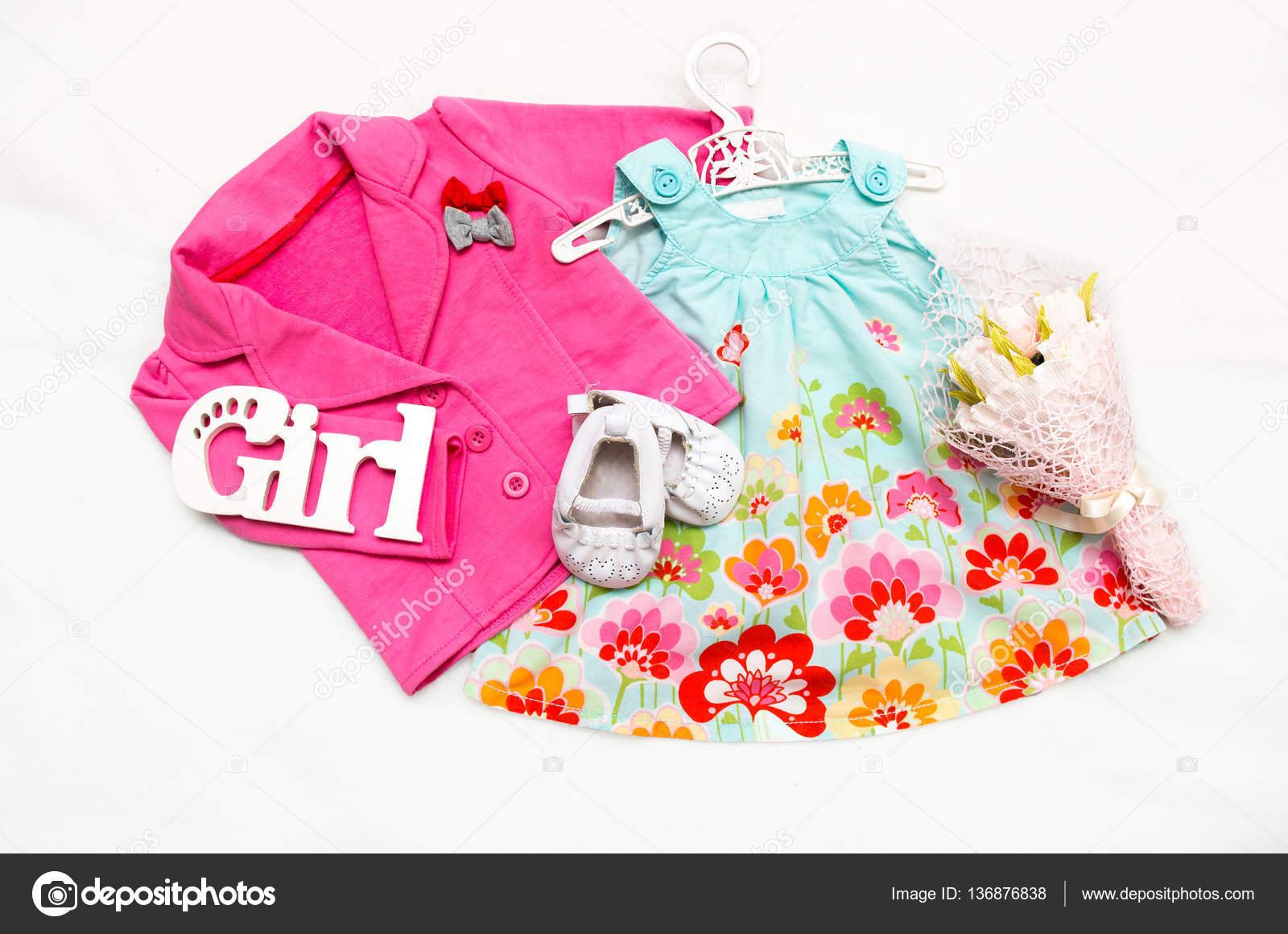 Conjunto Para Rosa La De Botines Niña Vestido Chaqueta Ropa rwHqpUxCr