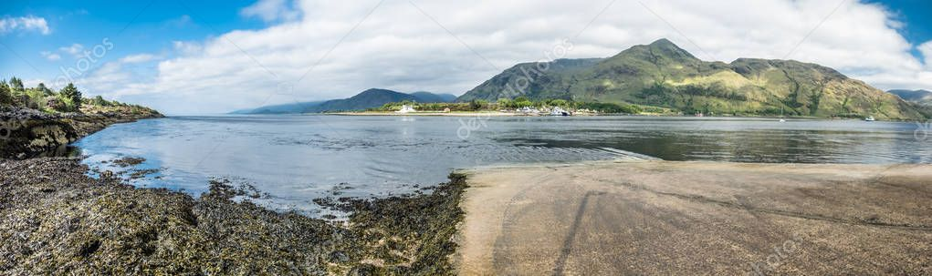 Corran ferry is connecting Ardnamurchan with Lochaber