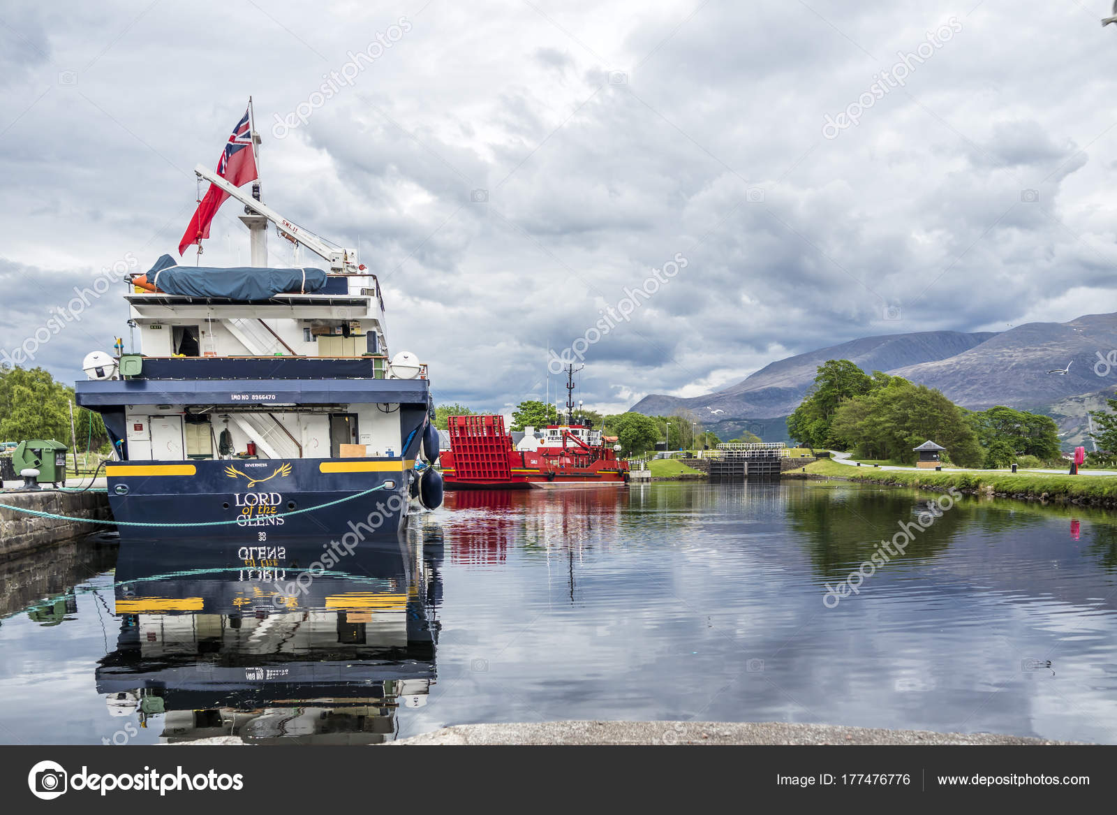 Fort William , Scotland - May 19 2017 : Lord of the glens