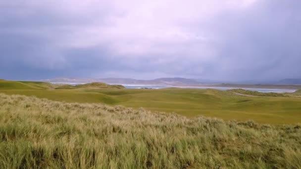 Die Portnoo und Narin Golf Links während des Sturms in der Grafschaft Donegal - Irland