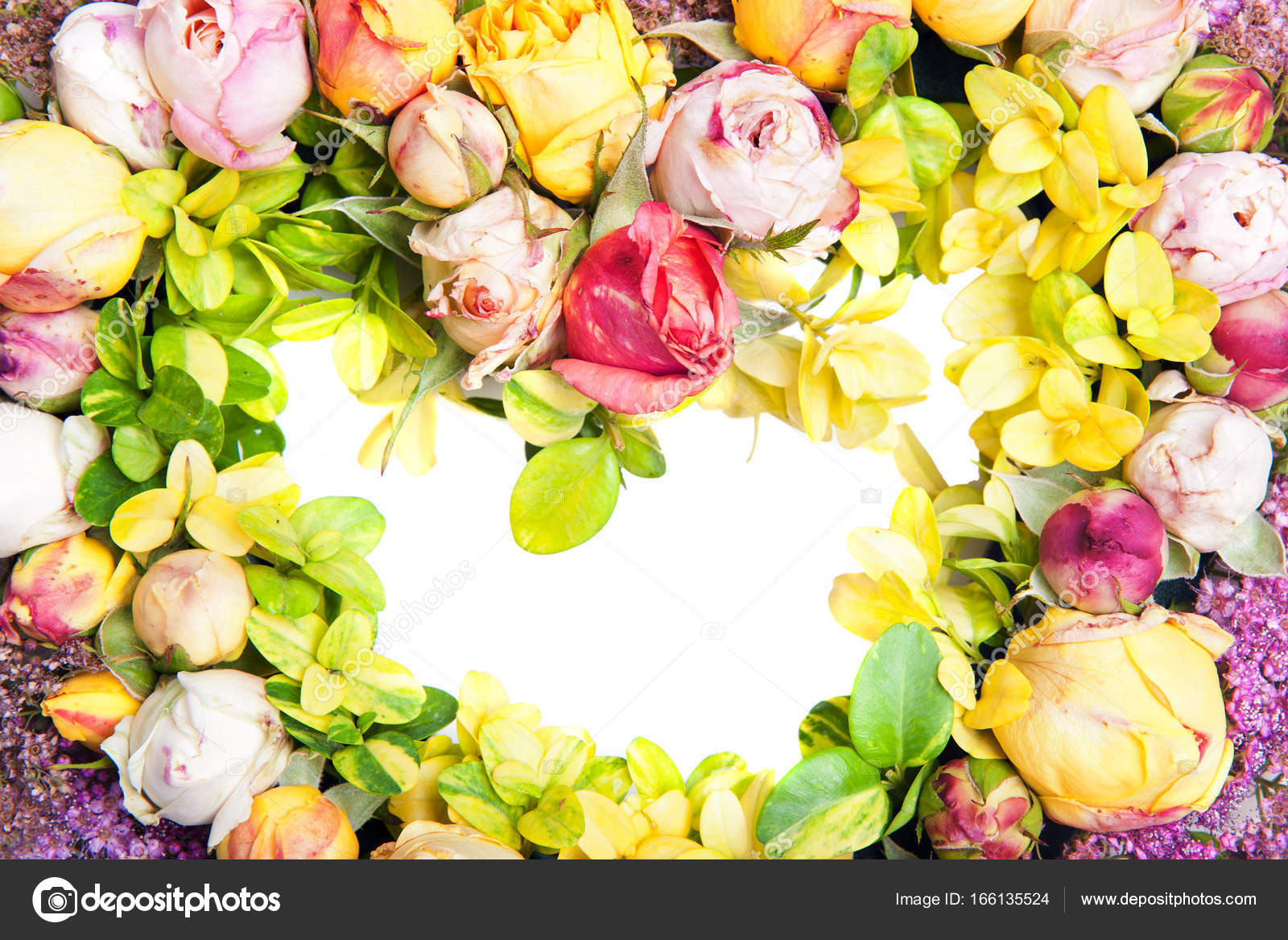 Heart Of Roses Stock Photo Fyletto 166135524