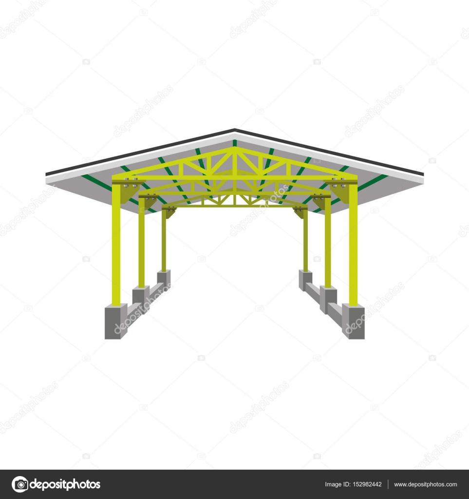 Industrial canopy vector u2014 Stock Vector  sc 1 st  Depositphotos & Industrial canopy vector u2014 Stock Vector © newgena #152982442