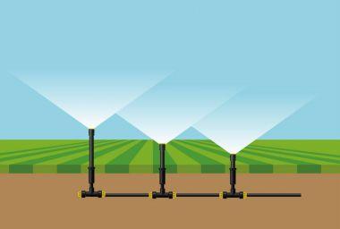 Automatic irrigation sprinklers