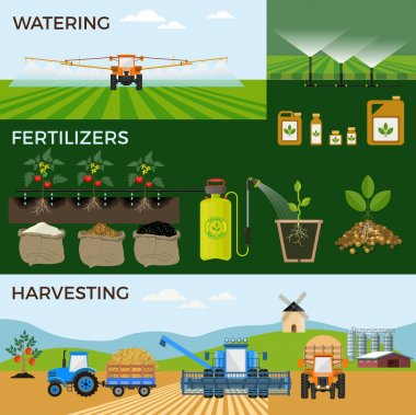 Agricultural and farming.