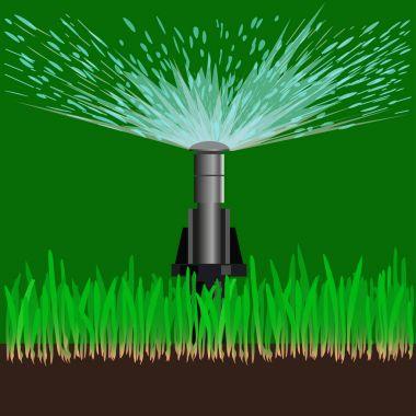 Automatic sprinklers watering
