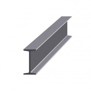 Steel I-beam vector
