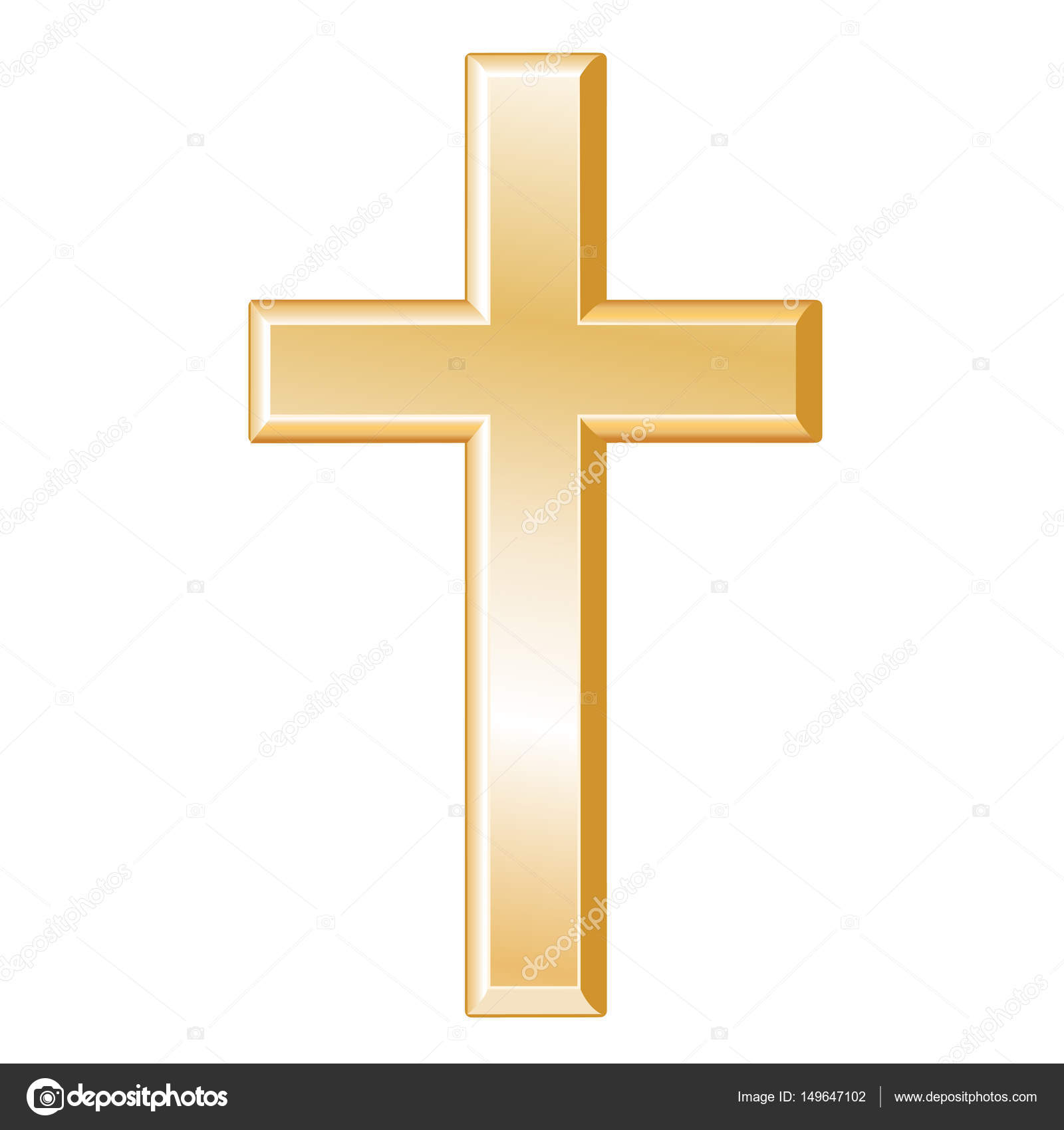Christian Cross Symbol Of Christianity Stock Vector Casejustin