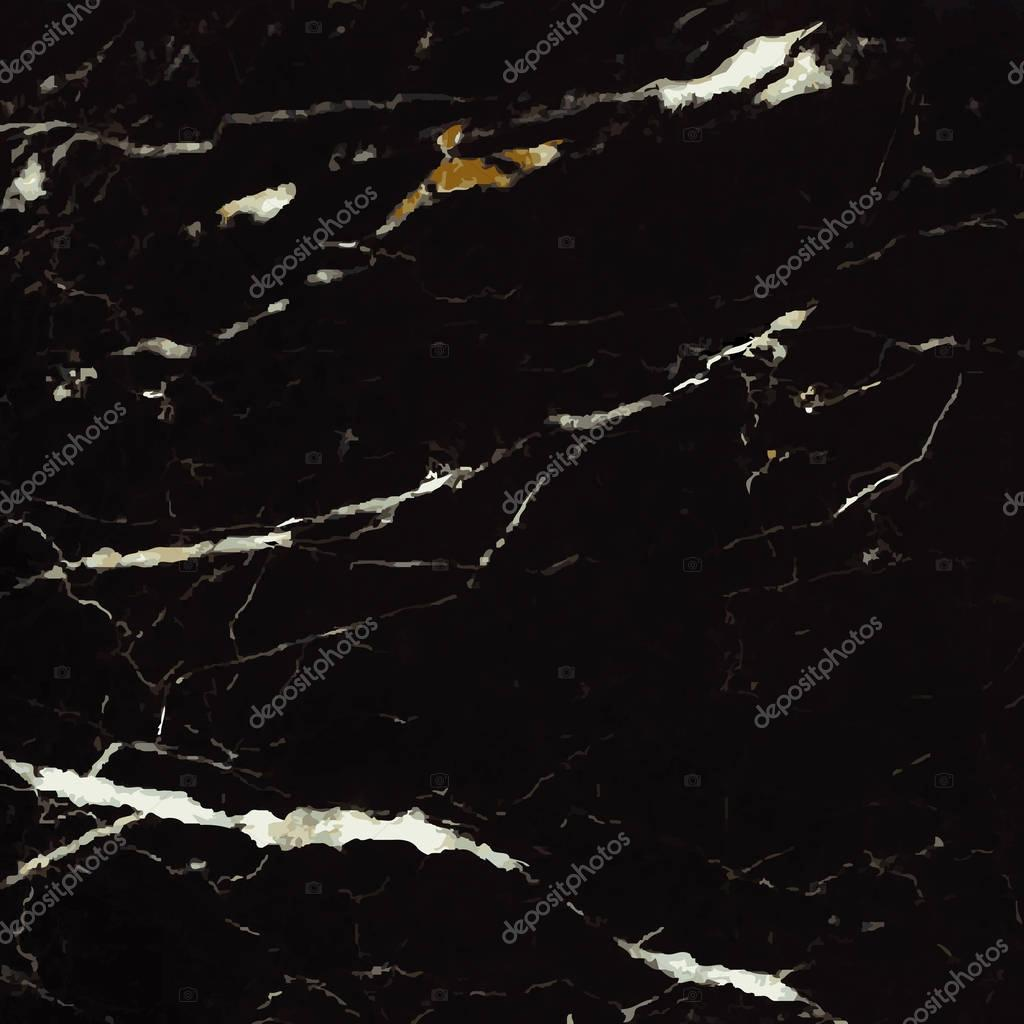 Marble Background, Black with streaks of white, gold and gray