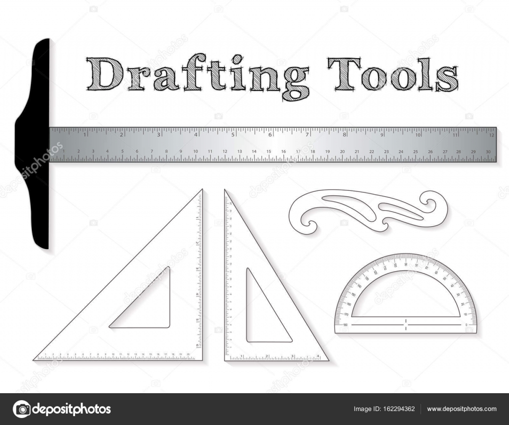Drafting tools for architecture engineers science math for Architecture drawing tools