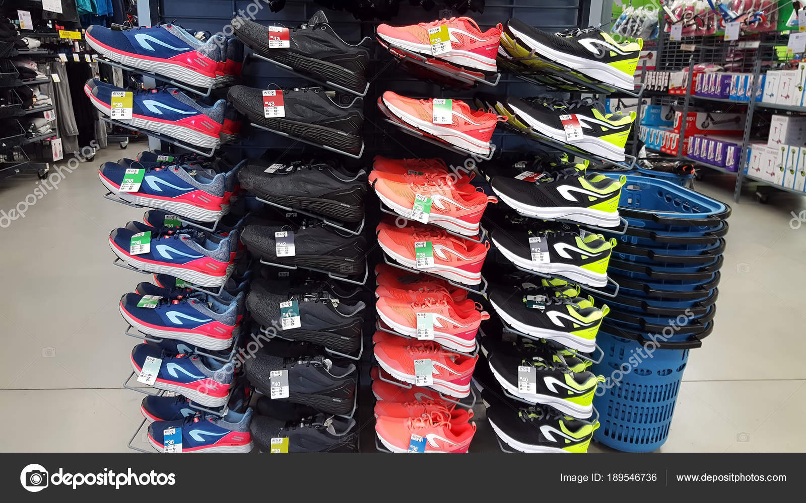 Iasi Romania March 2018 Sport Shoes