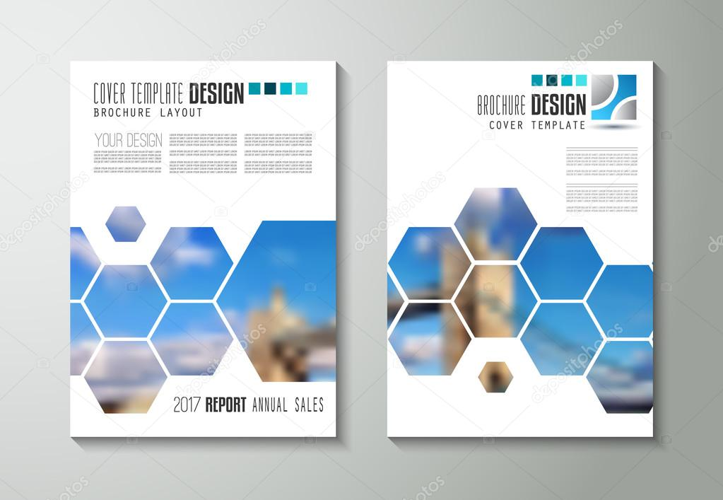 Broschüre-Vorlage, Flyer Design — Stockvektor © DavidArts #126122334