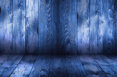Natural Dark Wooden background.