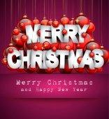 Fotografie veselé vánoční pozadí