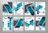 Brožura šablona, Flyer Design nebo prospekt Cover
