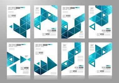 Brochure template, Flyer Design or Depliant Cover