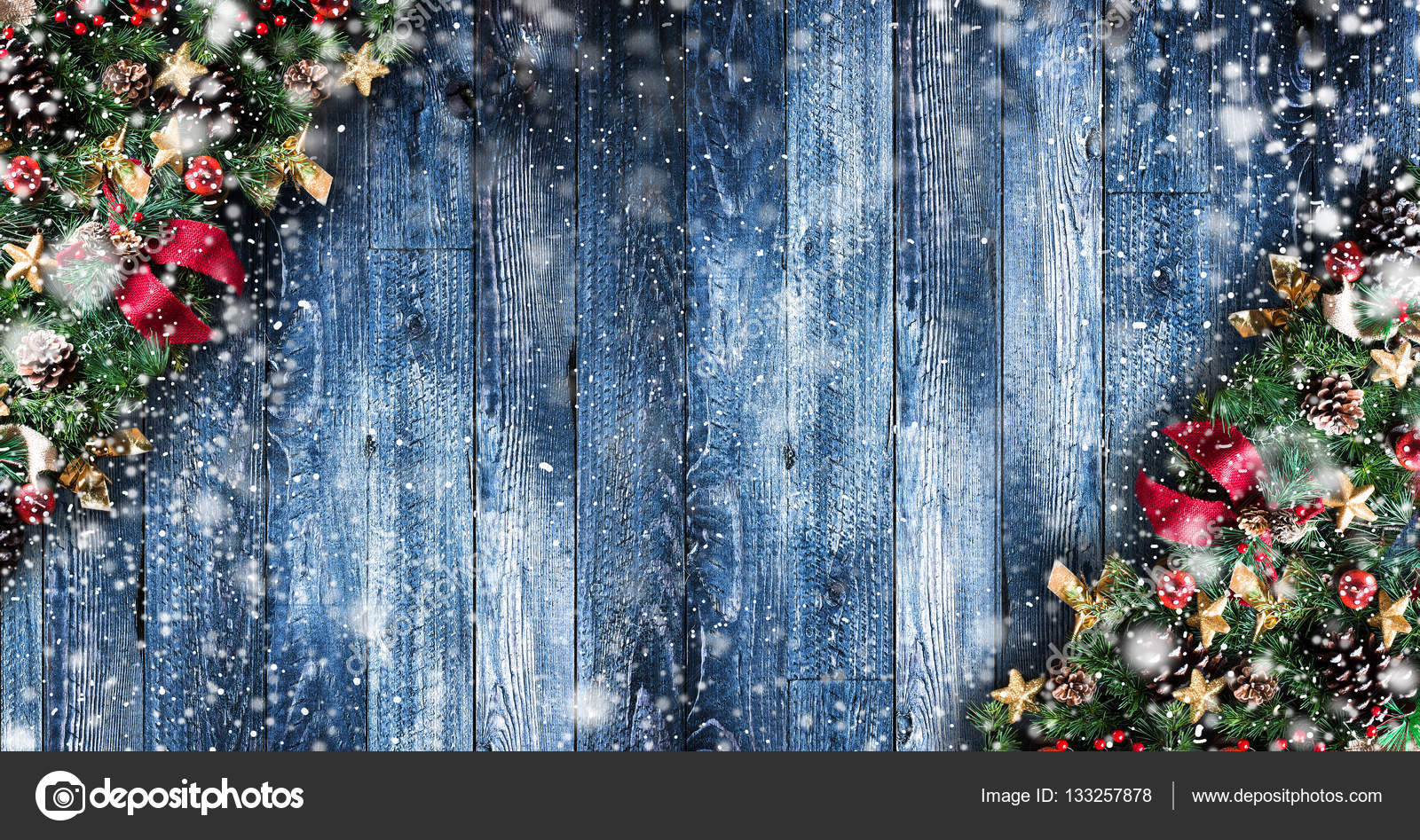 Merry Christmas Frame — Stock Photo © DavidArts #133257878