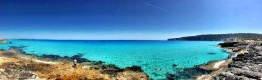 Beatiful Sunny Beach day in Formentera