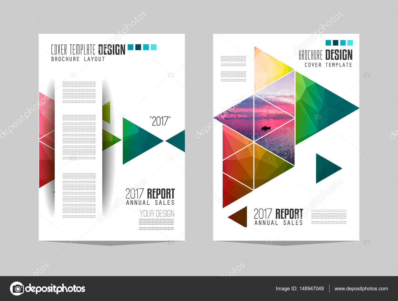 Broschüre Vorlagen, Flyer — Stockvektor © DavidArts #148947049