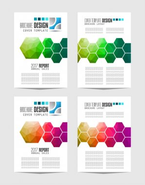 Brochure template, Flyer Design