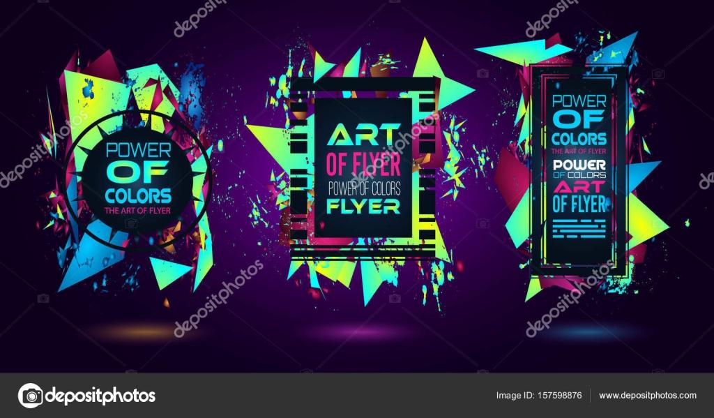 Futuristic Frame Art Design Stock Vector Davidarts 157598876