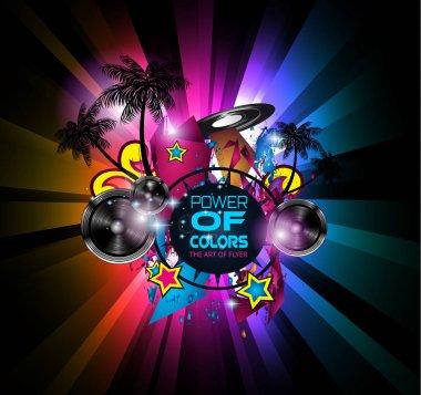Disco Dance Art Design Poster