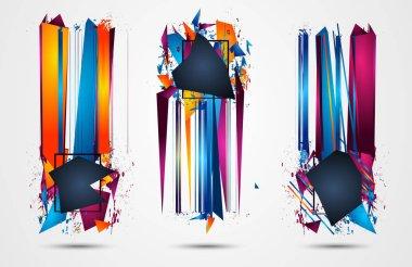 Futuristic Frame Art Design
