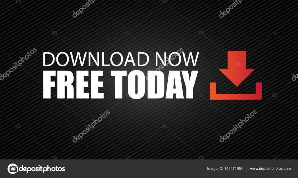 kostenlose download-button — Stockvektor © DavidArts #164171954