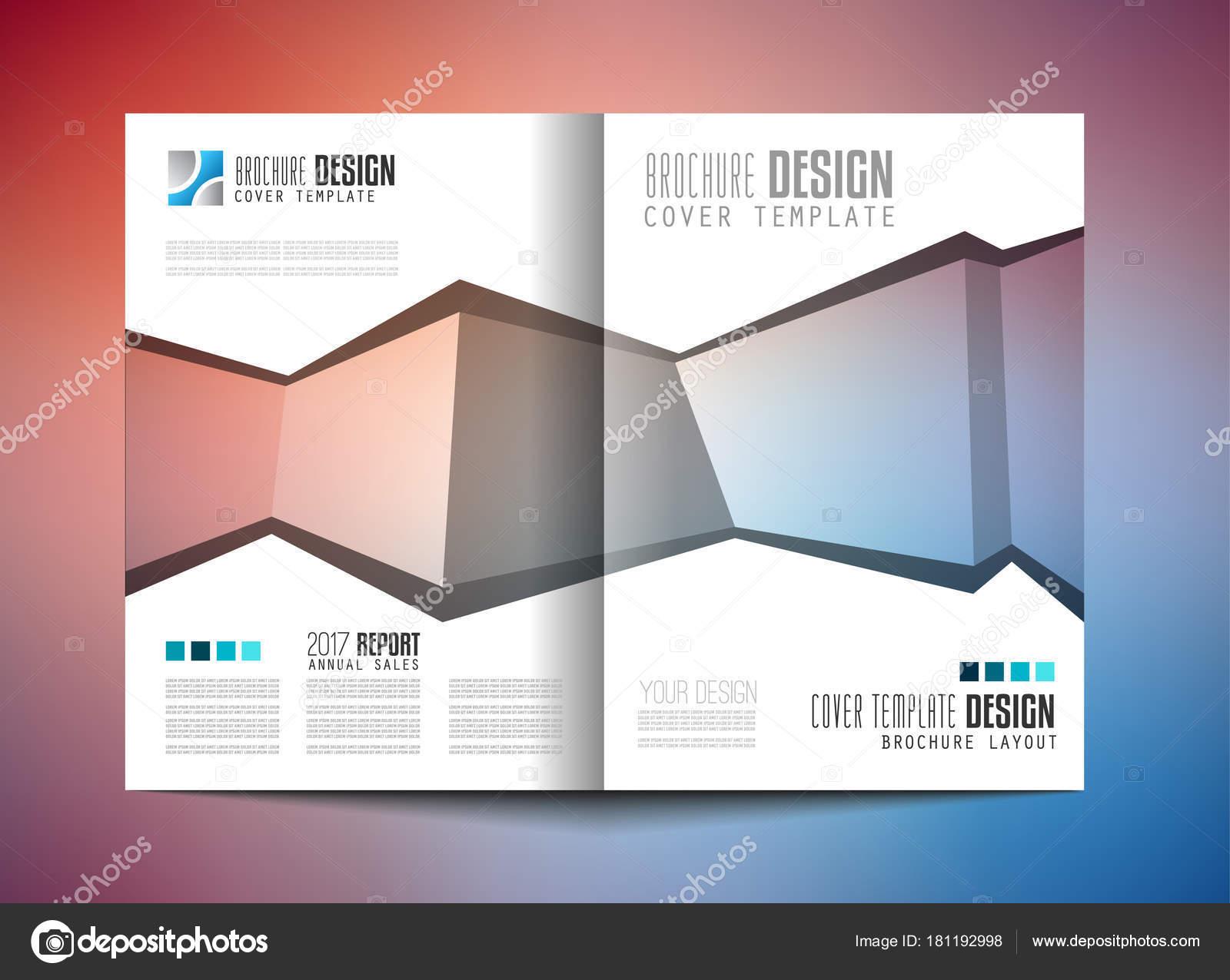 Plantilla Folleto Diseño Flyer Folleto Tapa Para Fines Comerciales ...