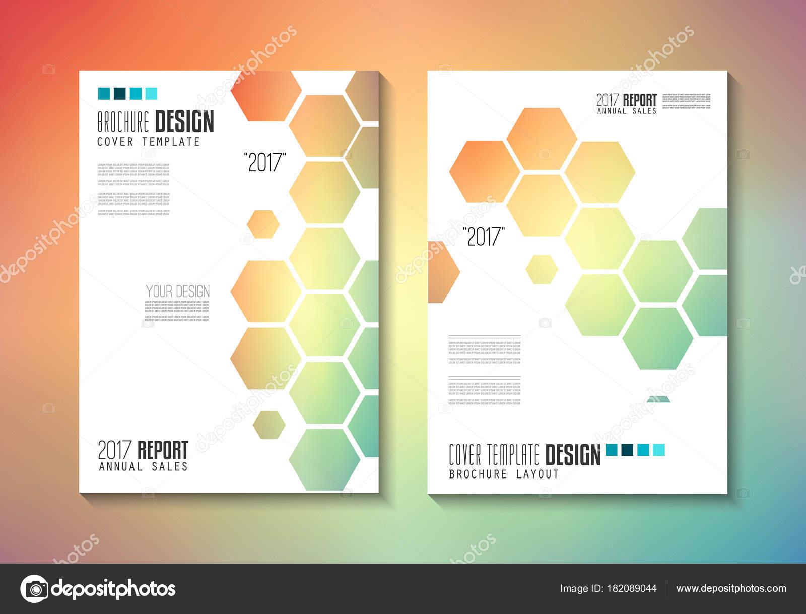 Brochure Template Flyer Design Depliant Cover Business Purposes ...