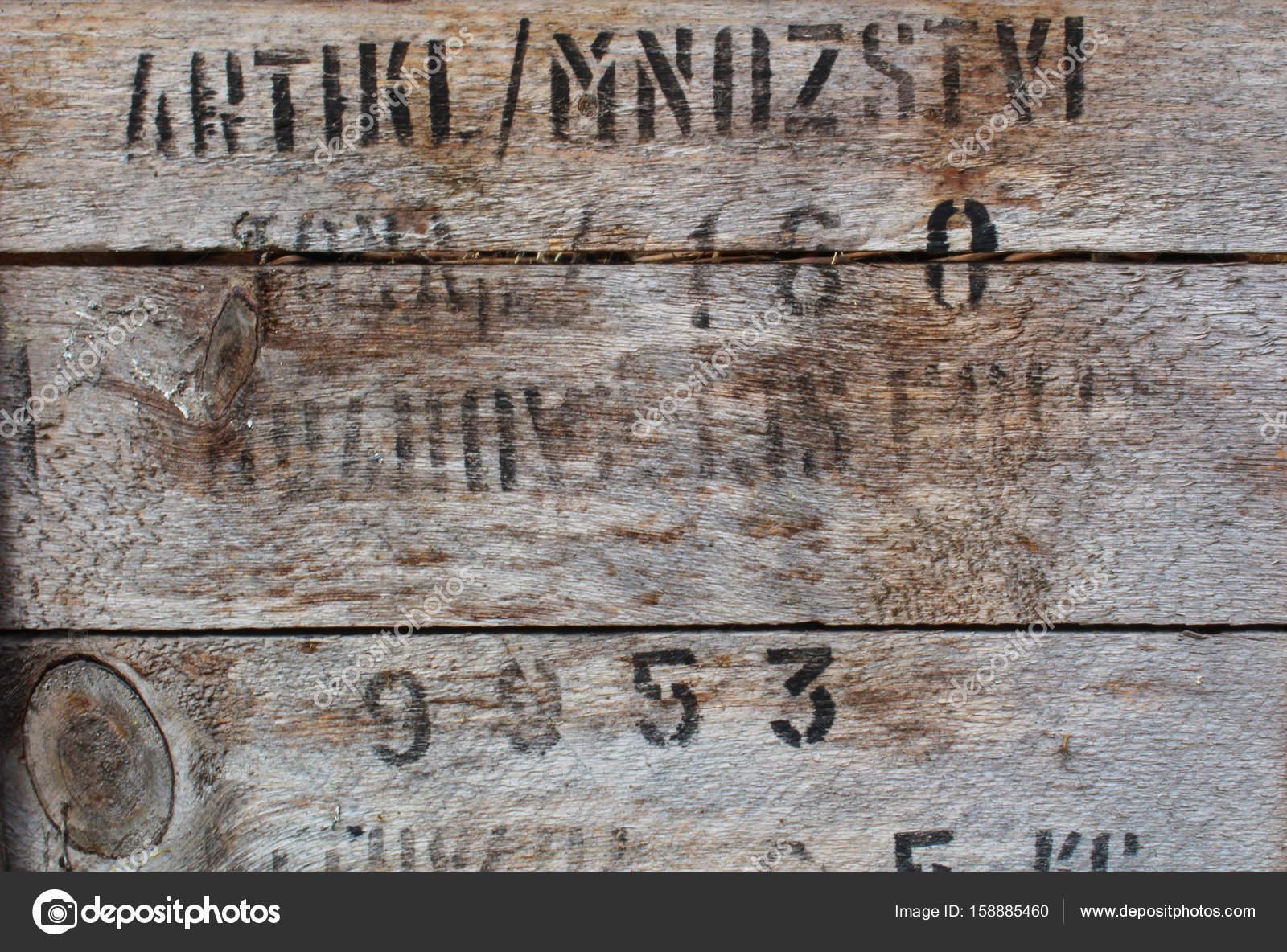 Legno Grezzo Chiaro : Struttura di legno grezzo chiaro rustico con testo nero u2014 foto stock