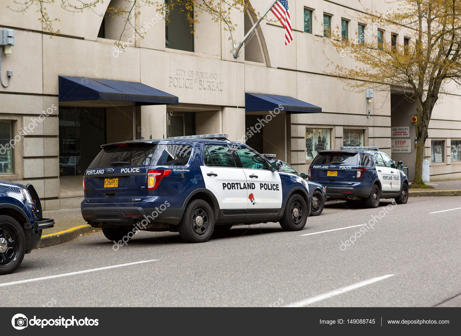 Portland police bureau suvs u2013 stock editorial photo © jpldesigns
