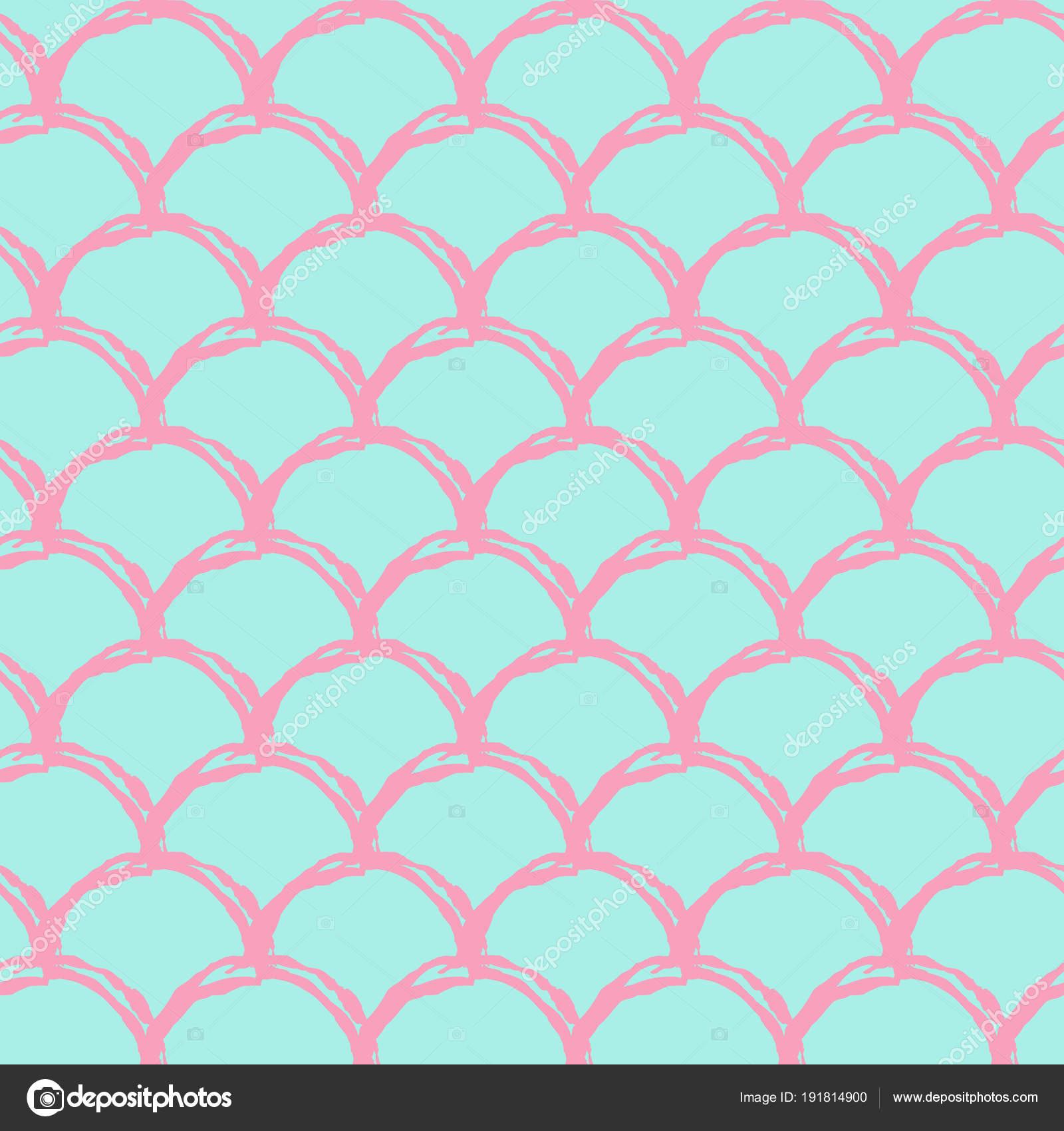 Mermaid Tail Wallpaper Mermaid Tail Seamless Pattern