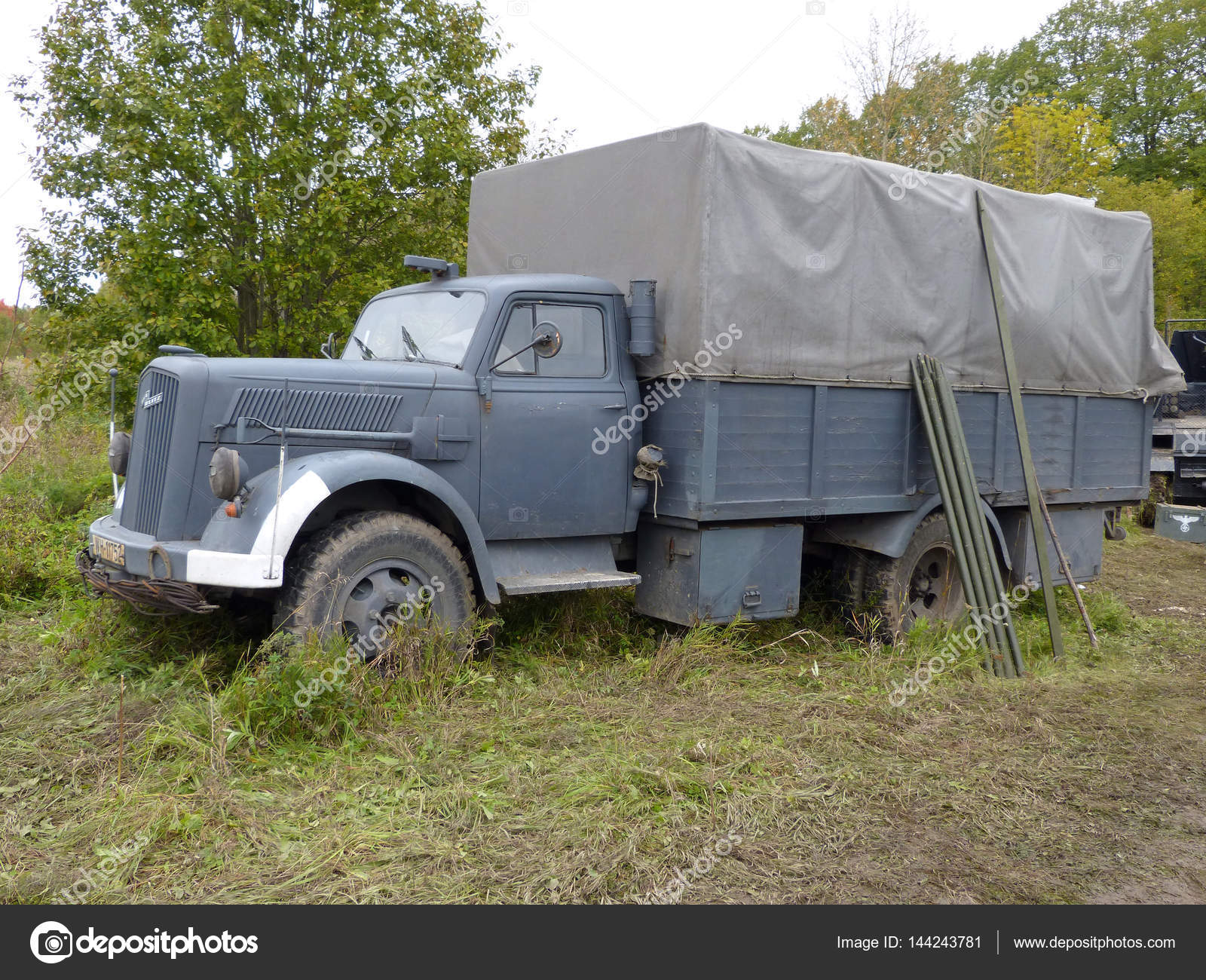Opel Blitz Truck Stock Photo Image By C Olegs133 144243781
