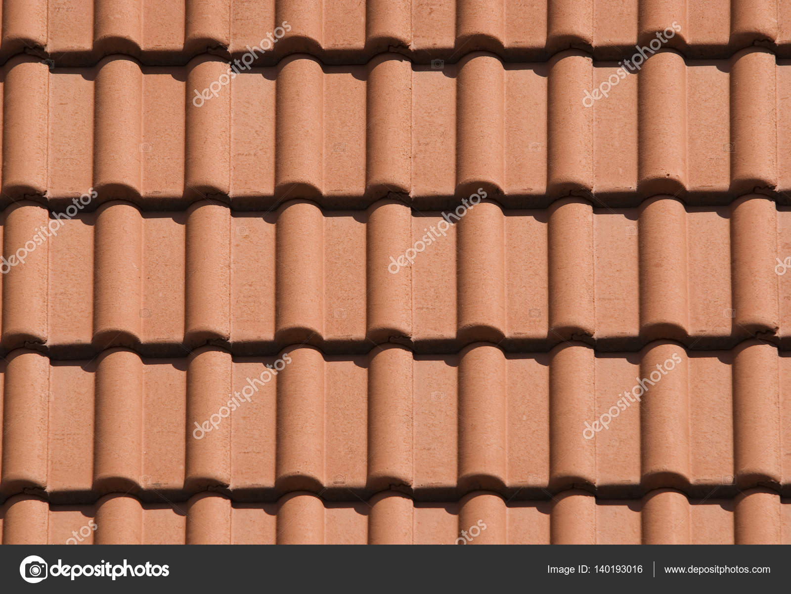 Detail of rooftop with red ceramic tiles stock photo aaron007 detail of rooftop with red ceramic tiles photo by aaron007 dailygadgetfo Choice Image