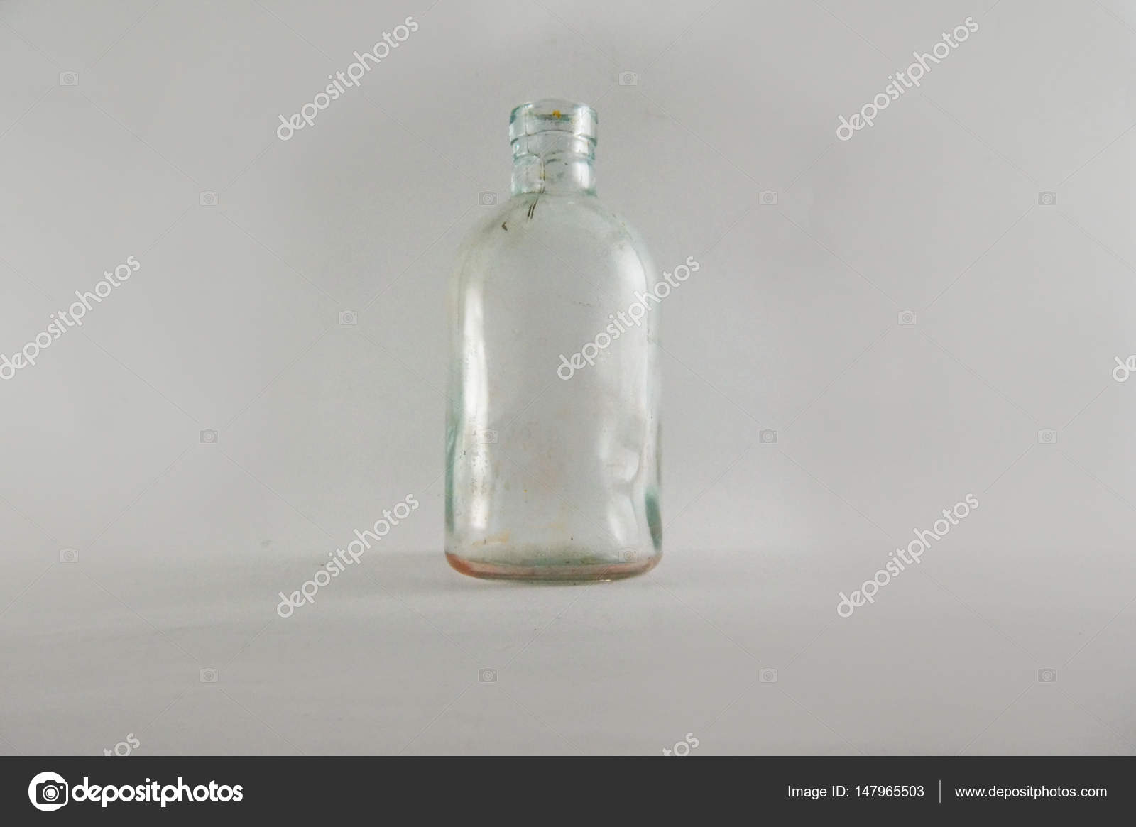 A Small Bottle Of Medicine On White Background Antique Bottles Decorative Tiny Retro Home Decor Photo By Nostalgishop