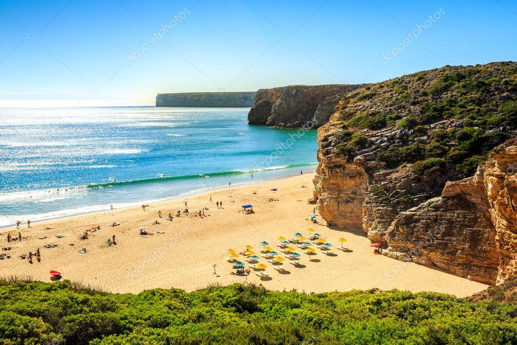 Playa de beliche junto a sagres cabo de san vicente portugal foto de stock sopotniccy - Cabo san vicente portugal ...