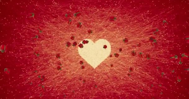 padající vánoční červené dárkové krabičky s výbuchem na červeném pozadí s dárkové krabice alfa kanál matný, valentine den dovolené slavnostní