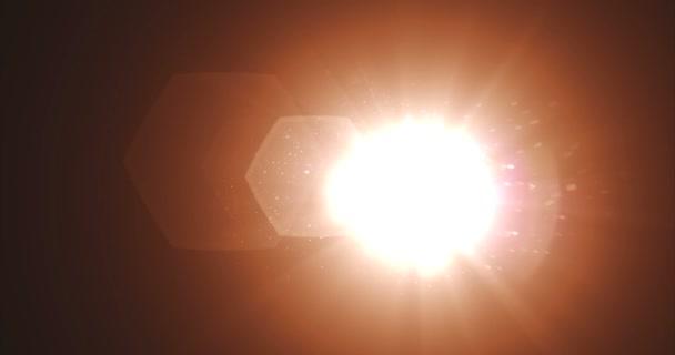 real vazamentos de luz e lente flare sobreposições cool cor matiz