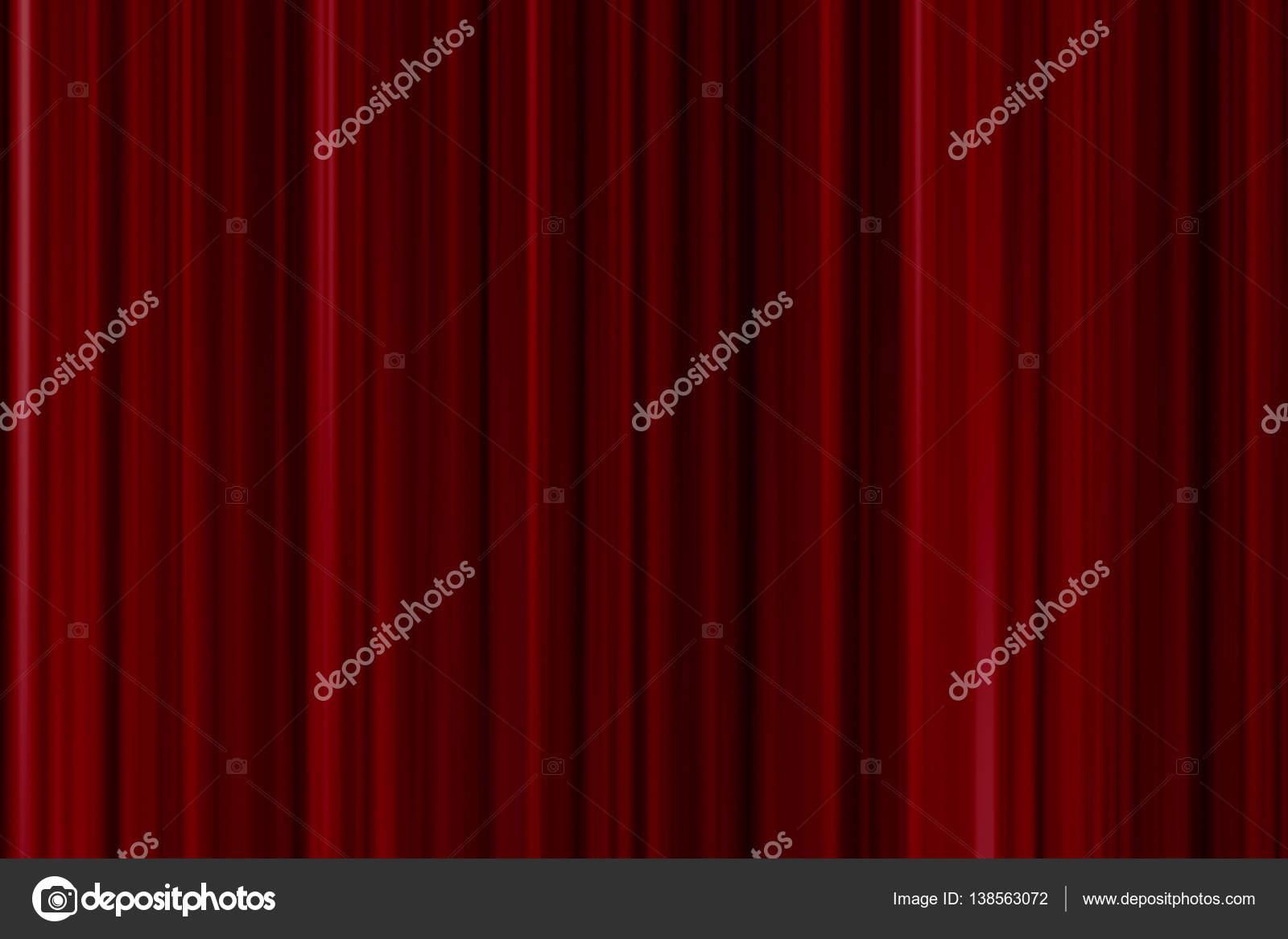 fermer le rideau rouge — Photographie donfiore1 © #138563072