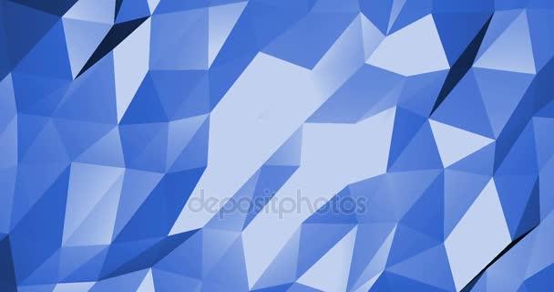 absztrakt digitális geometriai forma kék háttér