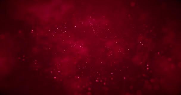 absztrakt karácsonyi színátmenet vörös háttérben a bokeh, és aranyszínű, Valentin nap szeretet holiday ünnepi esemény