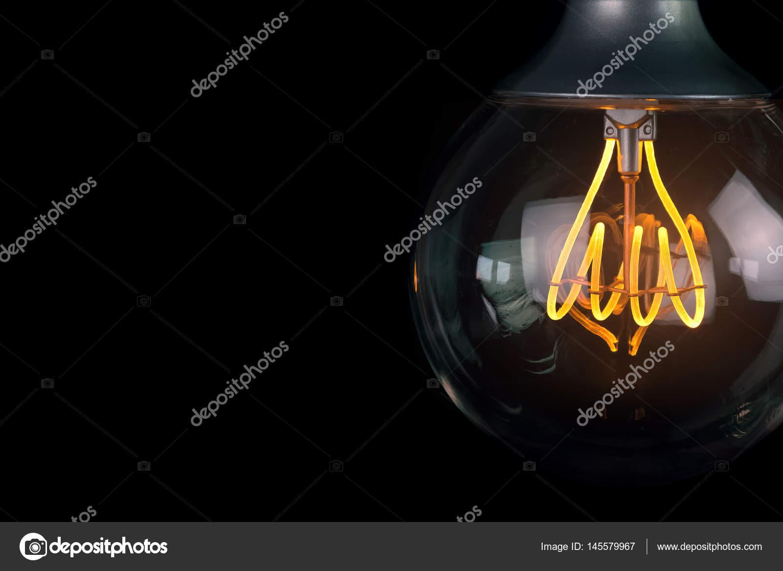 Retro Vintage Glühbirne mit led-Technologie Bult-in warmen Licht ...