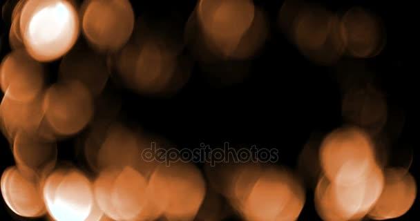 absztrakt arany szikrát buborékok részecskék bokeh a fekete háttér, ünnepi esemény holiday boldog új évet