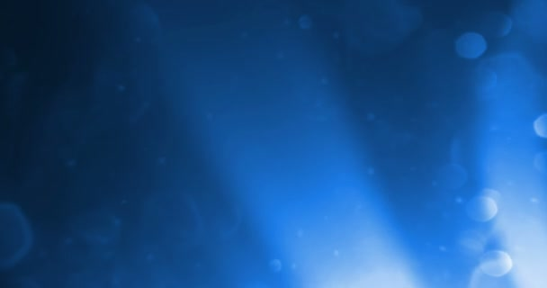 abstract blue glow glittering particles bokeh sparkle leaks effect, event festive holiday happy new year