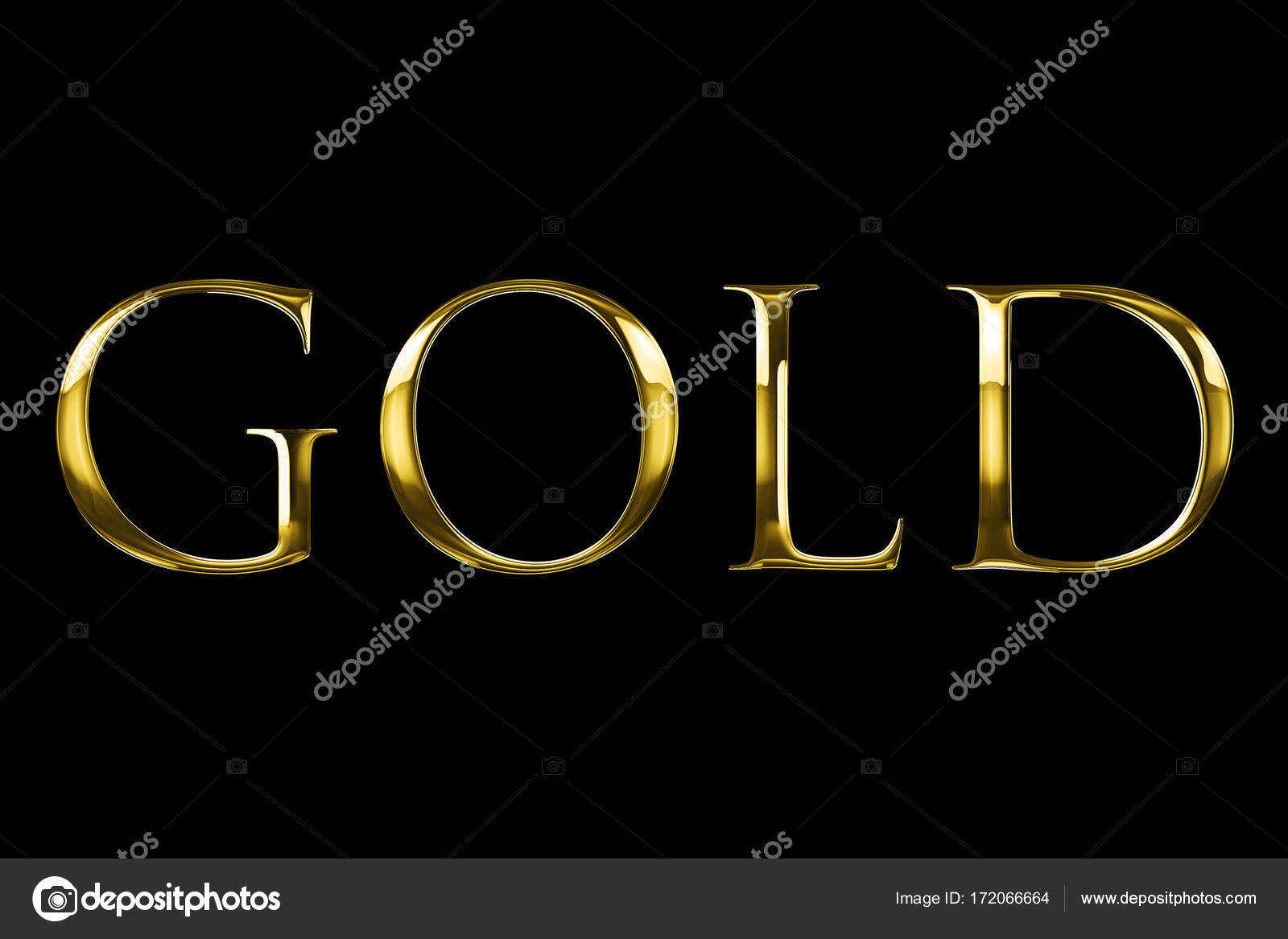 Vintage yellow golden metallic with gold word text series symbol