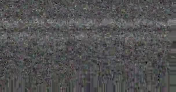 Colorful vhs glitch noise background realistic flickering, analog vintage  TV signal with bad interference, static noise background, overlay ready