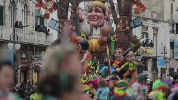 Olasz farsangi ünnep, a teljesítmény és a zene