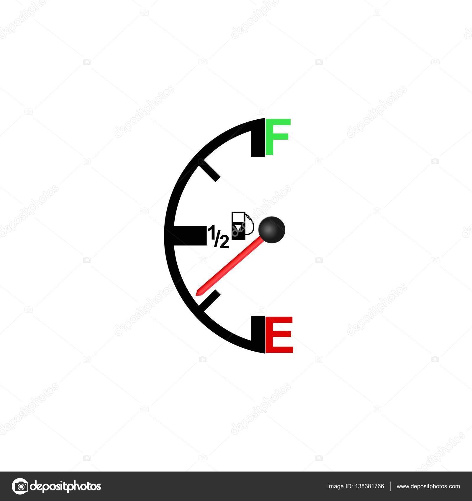 fuel level sensor — Stock Vector © slasny1988 #138381766